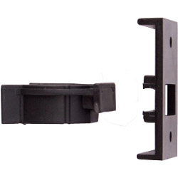 Select Plinth Clip 2 Piece Black