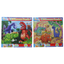 Traditional Games 3D Dinosaur Puzzle
