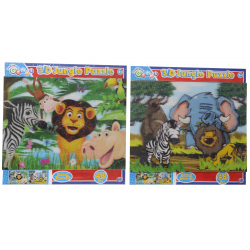 Traditional Games 3D Jungle Puzzle