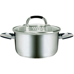 BBC Easy Cook Casserole - with Lid - Stainless Steel