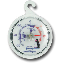 Brannan Dial Fridge Freezer Thermometer