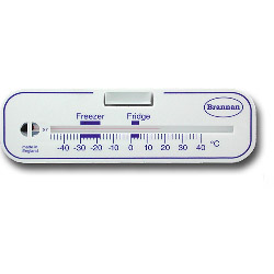 Brannan Horizontal Fridge or Freezer Thermometer