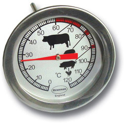 Brannan Dial Meat Roast Thermometer