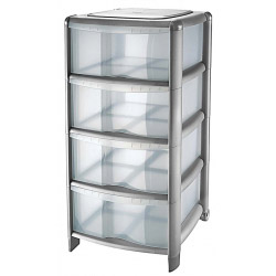 Tontarelli Platinum 4 Drawer Tower
