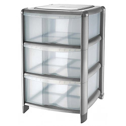 Tontarelli Platinum 3 Drawer Tower