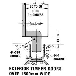 HILLALDAM COBURN 44 310 TIMBER DOOR GUIDE PR
