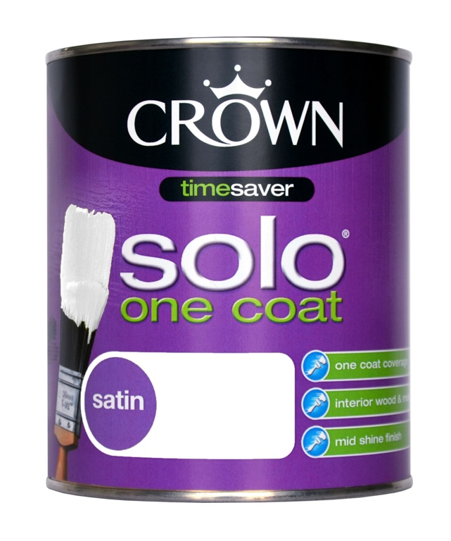 crown solo one coat 750ml stax trade centres. Black Bedroom Furniture Sets. Home Design Ideas