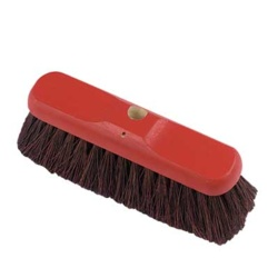 "STIFF BASSINE BROOM RED 11"" RHB25C (18) (S10 710)"