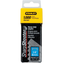 0 TRA 704T STANLEY HEAVY DUTY STAPLES 6 MM 1000 (7