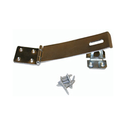 NO 617 6 GLV SAFETY HASP AND STAPLE (10) NB