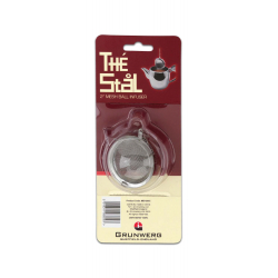 "Cafe Stal Mesh Ball Tea Infuser, 2"", Carded"