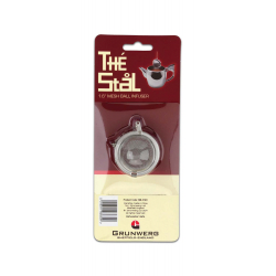 "Grunwerg 1.6"" Mesh Ball Tea Infuser Carded"