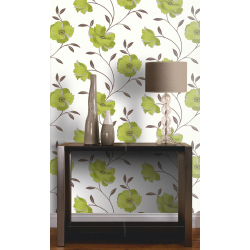 Arthouse Sophia Motif Green Wallpaper