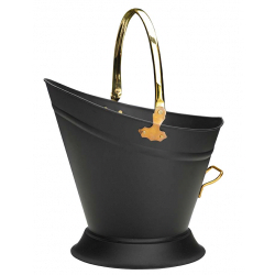 Parasene Waterloo Bucket Black Brass