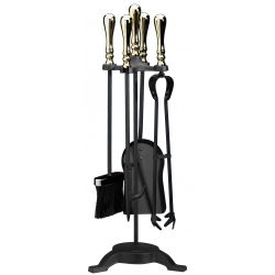 Parasene Balmoral Comp Set Black/Brass