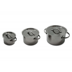 Commichef Mini Casserole With Lid, 6cm, Mirror Finish