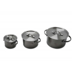 Commichef Mini Casserole With Lid, 8cm, Satin Finish