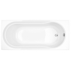 Keoni 1700 x 750mm No Tap Hole Single End Bath