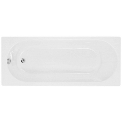 Cascade 1500 X 700mm 2 Tap Hole Single End Bath