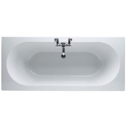 Finesse 1800 x 800mm No Tap Hole Twin End Bath