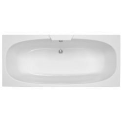 Algarve 1700 x750mm No Tap Hole Twin End Bath