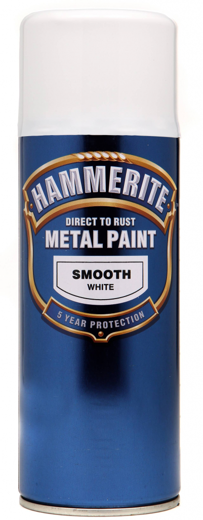 Hammerite Smooth Metal Paint White Ml