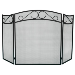 Parasene Heavy Duty Curved 3 Fold Fireguard