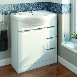 SP Sherwood White Vanity Unit 710mm