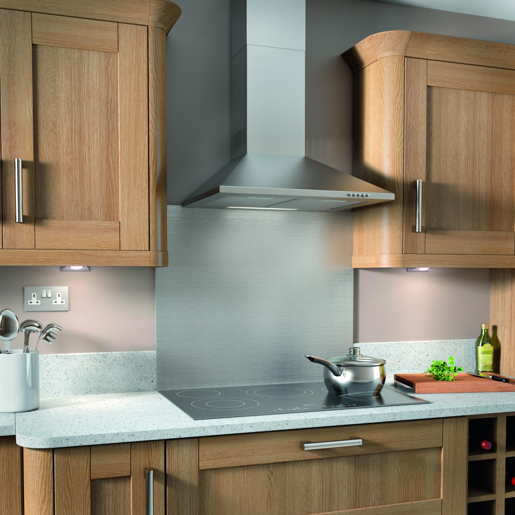 Kitchen Hoods Stainless Steel ~ Supalec stainless steel cooker hood stax trade centres