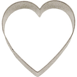 Chef Aid Heart Cutter, Tinplate