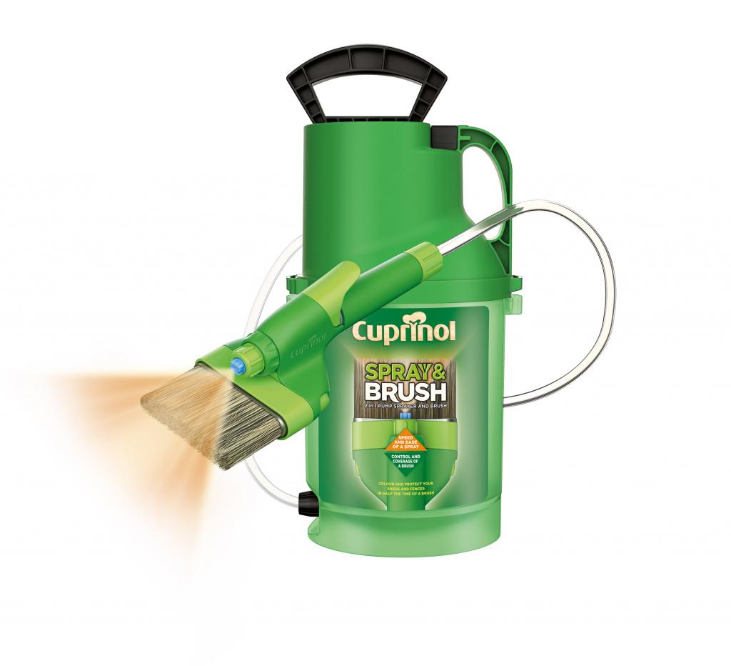 cuprinol 2 in 1 shed and fence paint sprayer ebay. Black Bedroom Furniture Sets. Home Design Ideas