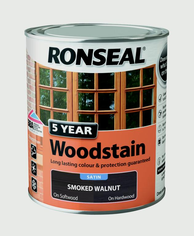 Ronseal 5 Year Woodstain 750ml - Stax Trade Centres