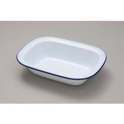 Pie Dish Oblong - Traditional White