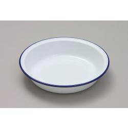 Pie Dish Round - Traditional White