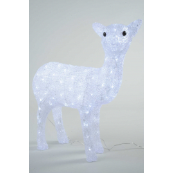 Kaemingk LED Acrylic Deer Outdoor White