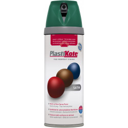 Plasti-kote Premium Spray Paint Satin Hunt Green
