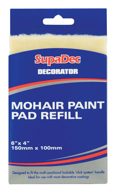 supadec decorator mohair paint pad refill stax trade centres. Black Bedroom Furniture Sets. Home Design Ideas