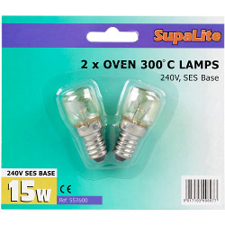 SupaLite 300°C Oven Lamps