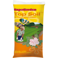 SupaGarden Top Soil 25 Litres