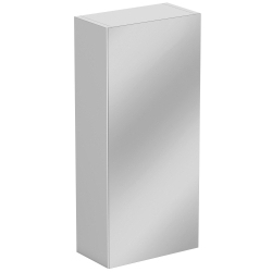 SP Sherwood White Single Door Mirror Wall Unit 300mm