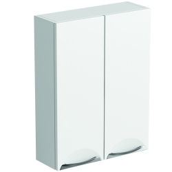 SP Sherwood White Double Door Wall Unit