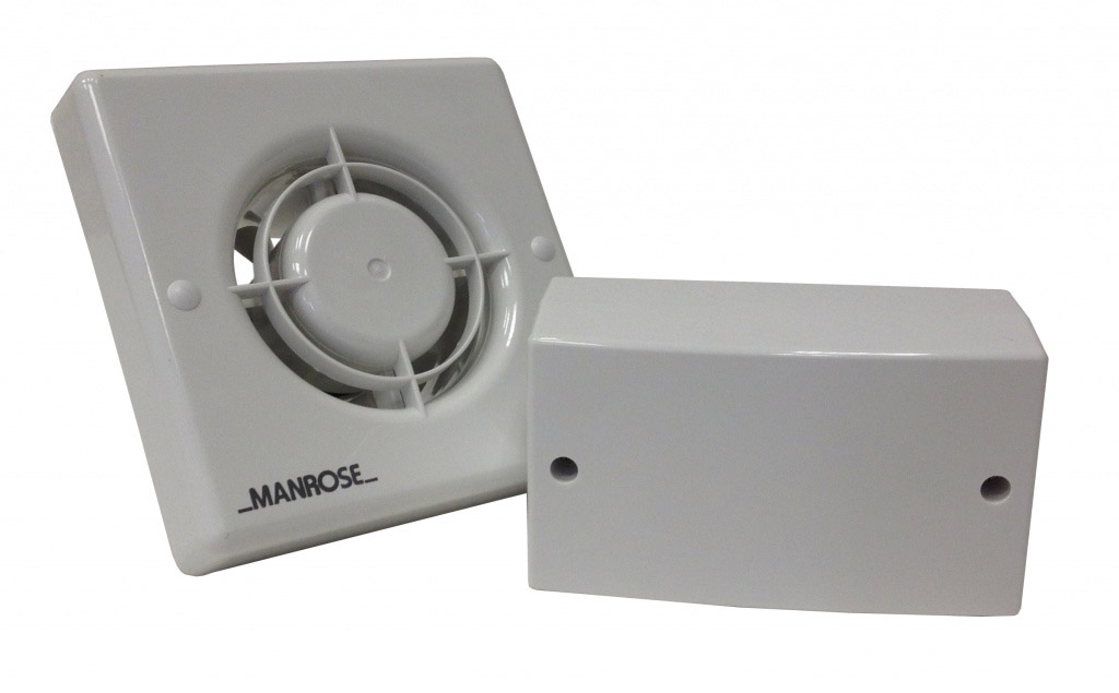 Low Voltage Blower : Manrose low voltage fan stax trade centres