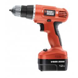 Black & Decker Cordless Drill With Free Accessory Kit