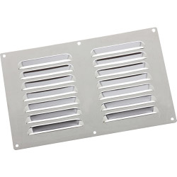 Select Chromed Vent Louvre