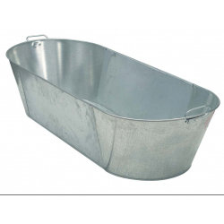 Parasene Galvanised Bath