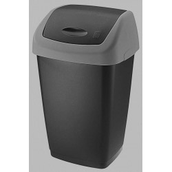 Tontarelli Swing Top Bin Black
