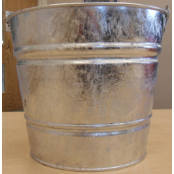 29cm Galvanised Bucket