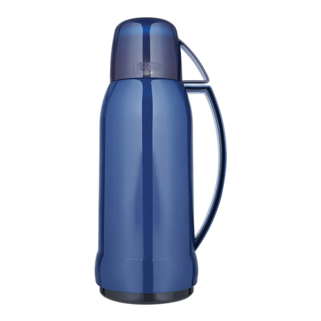 thermos jupiter 38 glass lined flask 1l twist and pour stopper high quality new ebay. Black Bedroom Furniture Sets. Home Design Ideas