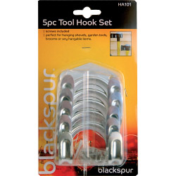 Blackspur Tool Hook Set - 5 Piece