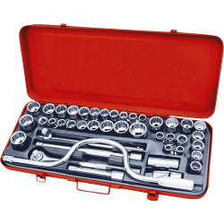Blackspur Socket Set - 42 Piece